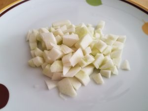 Etrog Pith Cut Up Into Small Pieces