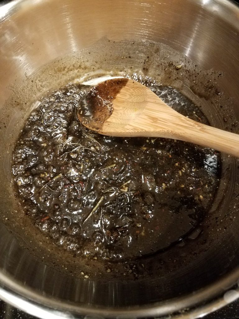 Kyphi - Cooked Mixture after 10 minutes
